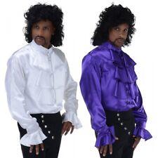 Ruffle Shirt 80s Rocker Prince Purple Rain 90s Seinfeld Pirate Halloween Costume