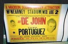 nice 1950 New York Joey De John boxing poster DeJohn