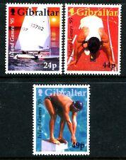 Gibraltar 680-682, MNH, Sport Island Games '95. x8051