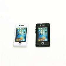 1pc 1:12 Dollhouse Miniature Accessories White/Black Apple IPhone Mobile Phone