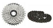 Shimano hg41 CASSETTA ACERA 8 Speed Bike Ruota Dentata Cassetta + hg40 CATENA AFFARE