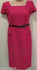 M&S Fuchsia Tight Shift Office Party Dress (NEW) UK size 6 Petite-£49.50