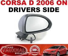 Vauxhall corsa d électrique chauffant wing mirror drivers side breeze club sxi cdti