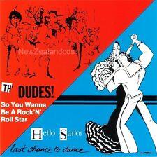 The Dudes (Dave Dobbyn) & Hello Sailor cd New Zealand 1980s Classic Rock