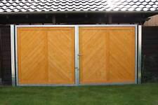 Einfahrtstor Hoftor Gartentor 4.09m x 1.92m für Sichtschutzzaun 1,80 x 1,80m Tor