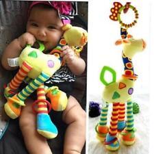Cartoon Giraffe Hand Bell Ring Rattle Baby Bed Hanging Educational Toy New Jian