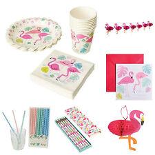 Geburtstag Party Deko Flamingo Kindergeburtstag Set Birthday Mädchen Sommer pink