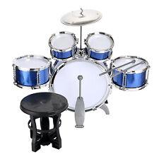 Kinderschlagzeug Schlagzeug Drum Set Kindertrommel 5 Trommeln 1 Becken 2 Sticks