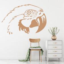 Głowa papugi Tropikalne Ptaki Naklejka Na ścianę WS-19637
