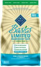 Blue Buffalo Basics Grain Free Adult Indoor Fish & Potato Recipe Dry Cat Food