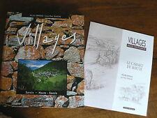Alpes Villages Savoie Haute-Savoie Carnet de route Blache Ed.Didier Richard 1998