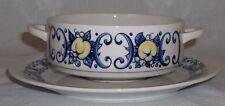 Villeroy & Boch CADIZ soup bowl and saucer EXCELLENT - retro / vintage
