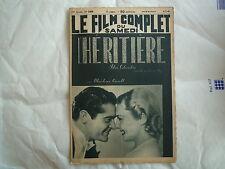 L'HERITIERE M CAROLL N° 2409 DU 4.5.40 LE FILM COMPLET DU SAMEDI