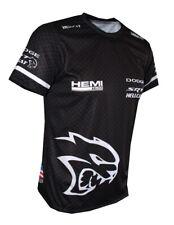 Dodge SRT Hellcat Hemi Logo quality logos and graphics men's t-shirt