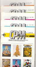 CPM Magazine n°1 à 5. Information cartes postales 1985