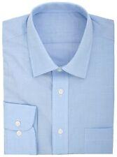 EX Store cotone Rich Quick IRON Principe di Galles Check camicia blu