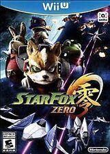 Star Fox Zero USED SEALED (Nintendo Wii U, 2016)
