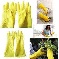 Gants en caoutchouc de qualité main nettoyage domestiques sécurité gant professionnel laver jusqu'