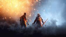 Battlefield 1 EA Game Poster Print T049 |A4 A3 A2 A1 A0|