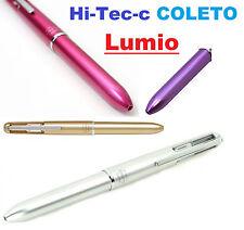 1x Pilot Hi Tec C Coleto Lumio 4 Color Multi Barrel iPhone Pen Gold White Pink
