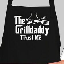 Personalized Grilldaddy Apron.  Custom Grilldaddy apron. Godfather apron