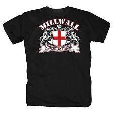Millwall Buschwackers Fc Hooligans Ultras England London T-Shirt S-4XL