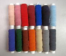 Elastikfaden (€0,14/m) 20m Gummifaden 35 verschiedene Farben