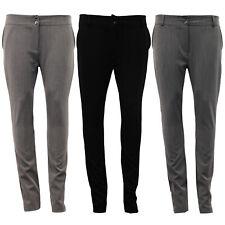 Nuevas señoras Pantalones Para Mujer Niñas Escuela Pantalones Formales De Trabajo Inteligente Oficina Slim Fit