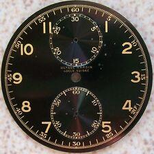 Ulysse Nardin Pocket Watch Chronograph Black Dial 45 mm. in diameter N.O.S.
