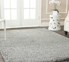Silver Light Gray Solid Shag Area Rug Rugs 4 6 5 8 7 8 10 9 12 13 11 15 Carpet