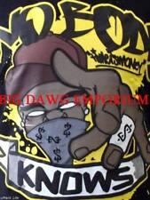 Time Is Money Hombre Verano Algodón No Cuerpo Knows Hip Hop Camiseta Club Urban