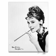 Audrey Hepburn, Leinwand Bild auf Keilrahmen, Poster, Kunstdruck 12.1401