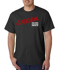 C.R.E.A.M. Dare Parody T-Shirt - Cash Rules Everything Around Me Hip Hop Rap Tee