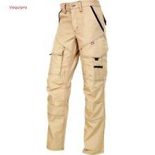 Pantalon de travail PITBULL beige, pratique et confortable