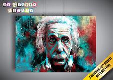 Plakat Albert EINSTEIN pop Kunst Design Wand