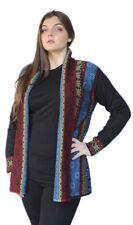 Women's 100% Authentic Baby Alpaca Wool Knitted Coat Sweater Yakar Cusco