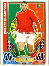 Match ATTAX euro em 2012 - #125 RICARDO QUARESMA-PORTOGALLO