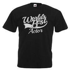 ATTORE Novità Regalo Adulti T Shirt da uomo 12 Colori Taglia S - 3xl