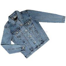Older Girls ex New Look Blue 100% Cotton Denim Jacket Age UK High Street