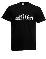 Herren T-Shirt Evolution Computer bis 5XL