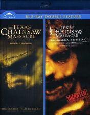 THE TEXAS CHAINSAW MASSACRE / TEXAS CHAINSAW MASSACRE: THE BEGINNING NEW BLU-RAY