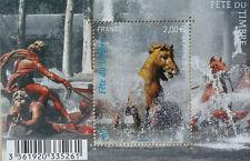 BLOC DE TIMBRES FRANCE 2010 - FETE DU TIMBRE - LE CHEVAL - FACIALE 2 € - NEUF