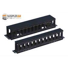 1U Server Rack Metal Cable Management With Cap