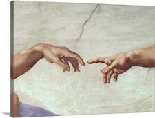 "THE CREATION OF ADAM MICHELANGELO detail - ART PRINT POSTER 16/"" X 20/"" 733"
