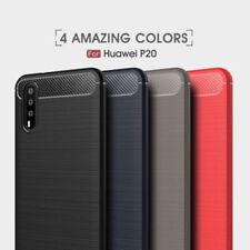 Cáscara Para Huawei P20, P20 Pro, P20 LITE en el Aspecto Carbono Protección