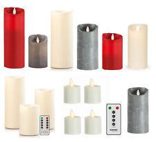 Sompex FLAME LED-Kerze, Teelicht, Stabkerze, Fernbedienung, Teelichter, Kerzen