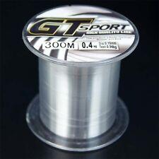 300M Nylon Line Mono Clear Strong GT Sport Fishing Line linea di monofilamento