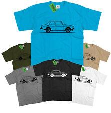 Original Sketch Saab 99 Swedish Rally Legend T Shirt