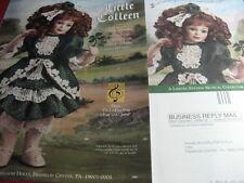 Franklin Heirloom LITTLE COLLEEN Doll MAGAZINE Ad FOUR LEAF CLOVER