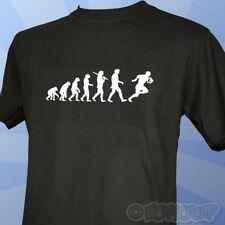 Evolución de un Rugby Jugador Camiseta All Black Para Hombre